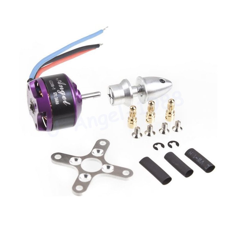 Free Shipping SUNNYSKY A2208 Angel KV1260 KV2600 motor 2 3s exterior rotor brushless motor for MultiCopter