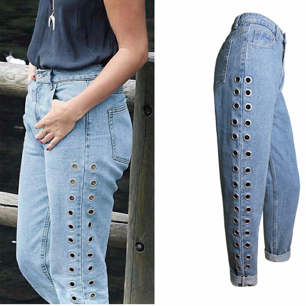 Aliexpress.com : Buy 2017 spring jeans feminina fashion pantalon ...