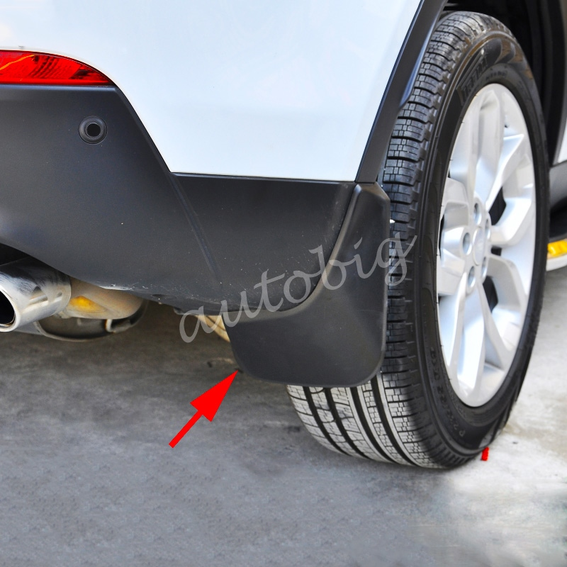 Front Rear Splash Guard Mud Flaps FOR Land Rover Discovery Sport 5 Seats 2015 2016 2017