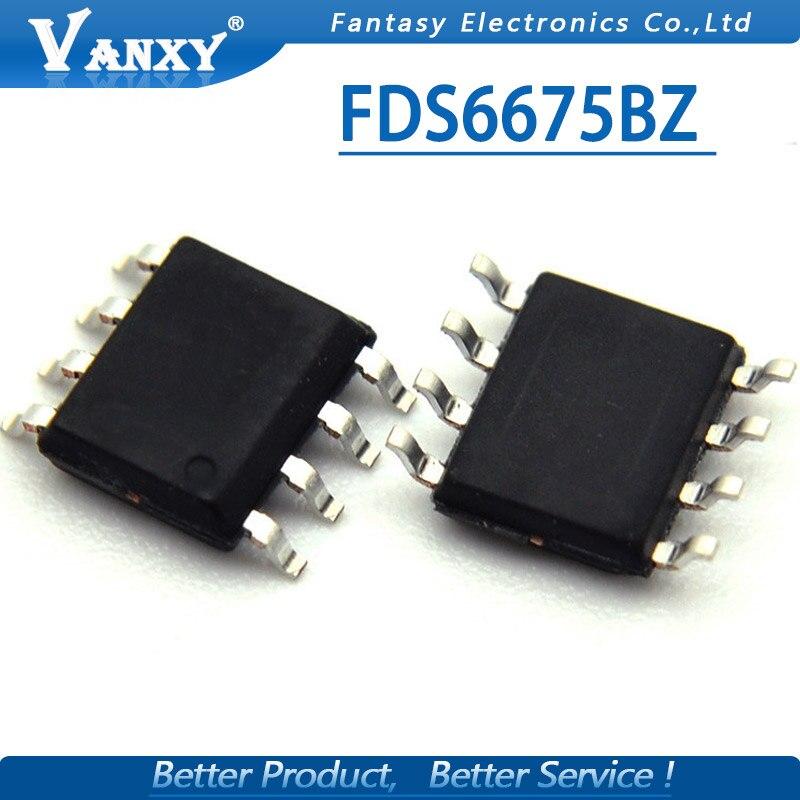 10pcs FDS6675BZ SOP-8 FDS6675 SOP 6675BZ SOP8 MOSFET