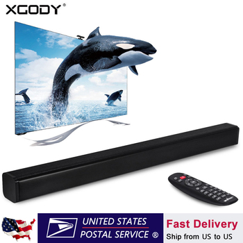 XGODY E20 Soundbar TV Sound Amplifier Speaker Bluetooth Audio Receiver Sound System Enceinte Caixa de som Portable Column for PC