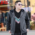 XXL hooded hoodies big size male bust 150 8XL fat with fertilizer increased warm outerwears 7XL Large size male