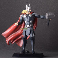 New Hot Marvel Classic The Avenger Super Hero Thor Crazy Toys 18CM Figure Toys Box Best