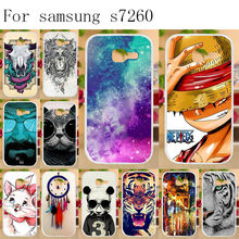 "Anunob Phone Cases for Samsung Galaxy Star Plus GT-S7262 S7260 S7262 Pro i679 Case Cover Bumper TPU Silicone Housing Bag 4.0""(China)"