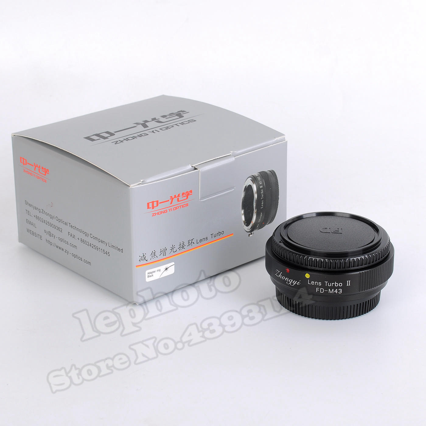 Mitakon Zhongyi objectif Turbo II réducteur de focale adaptateur Booster pour Canon FD monture objectif à Micro quatre tiers MFT caméra M43 GH4 OM D-in Objectif Adaptateur from Electronique    2