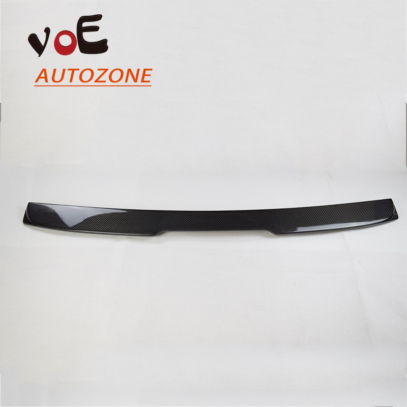 2004 2005 2006 2007 2008 2009 E60 Carbon Fiber AC Style Rear Roof Spoiler for BMW E60 5 Series aftermarket free shipping motorcycle parts eliminator tidy tail for 2006 2007 2008 fz6 fazer 2007 2008b lack