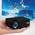Aun la serie am200 1500 lúmenes del proyector (opcional CAJA Androide de la TV/Android Apoyo Proyector KODI AC3) TV LED MINI Beamer Blanco