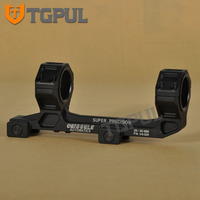 TGPUL 1 / 30mm Dual Ring Cantilever Heavy Duty Scope Mount With Bubble Level Picatinny Weaver Rail 20mm Bracket and Shot gun