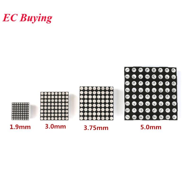 5PCS 8x8 3mm Red Dot Matrix Display LED Display Common Anode