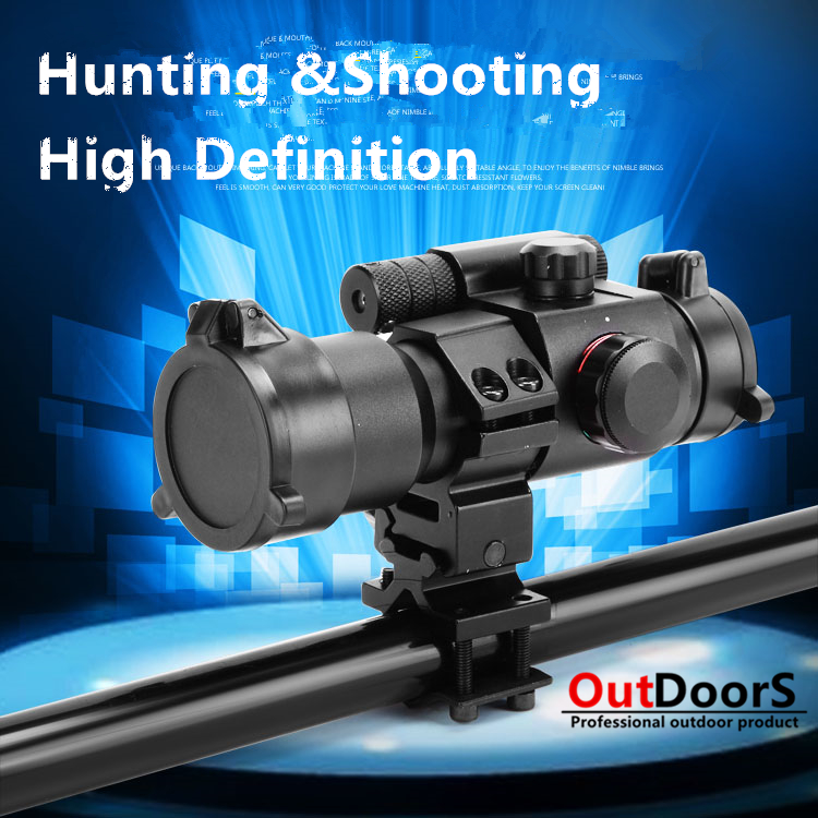 ФОТО Shipping Free Tactical Hunting Holographic 1 x 40mm Airsoft Red Green Dot Sight Scope 11 & 20mm Rail Mount M2