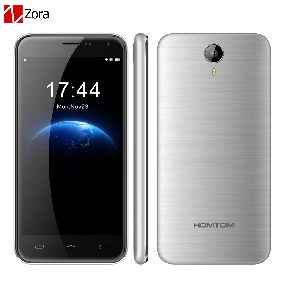 HOMTOM HT3 5 0 inch Android 5 1 3G GPS WiFi Smartphone MTK6580 Quad Core 1