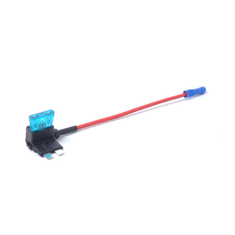 5ピース追加回路車自動atm低プロファイル刃スタイルインラインヒューズホルダーヒューズボックス付き10a 15a 30 amp