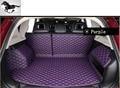 La mejor calidad! alfombrilla para maletero del coche especial para Mitsubishi Outlander 2008-2012 cuero impermeable mats mascotas botas revestimientos de buques de carga