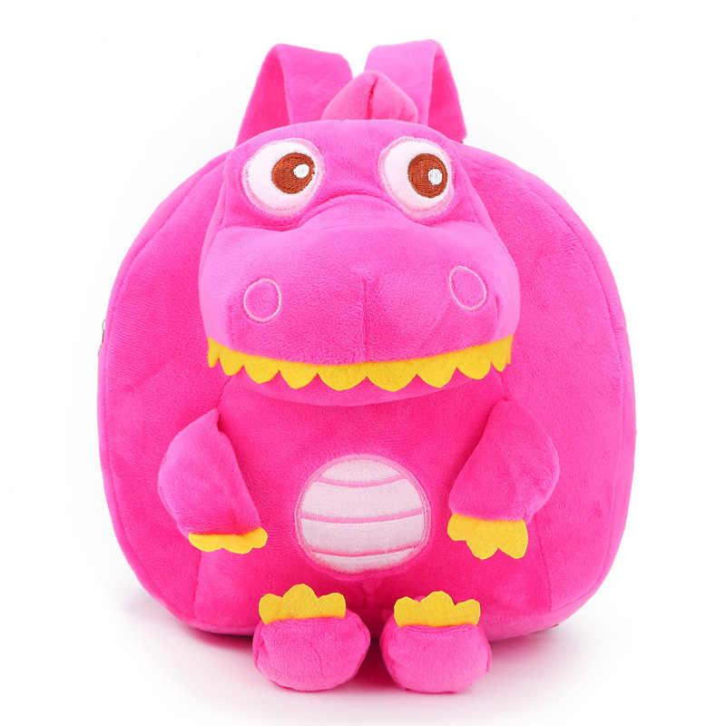 DDWE мультфильм Динозавр аниме детские плюшевые рюкзак мультфильм школьников детский сад сумка для мальчиков и девочек сумки милые животные игрушка на день рождения