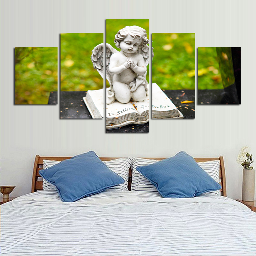 Modern Angel Painting Home Decor Canvas Picture Print On