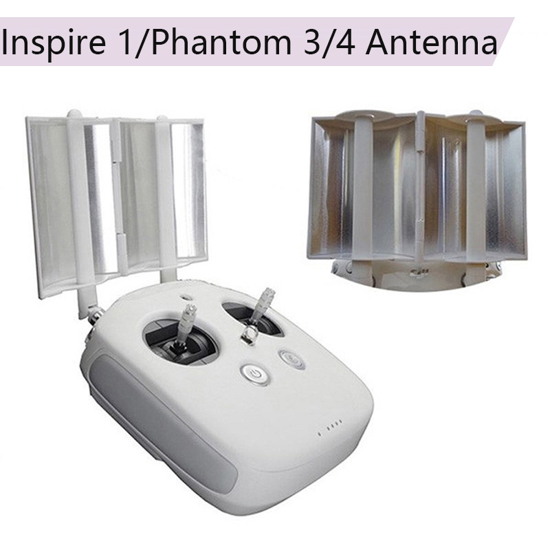 Professional Remote Controller Transmitter Signal Booster Parabolic Antenna Range Extender For DJI Inspire 1 Phantom 3 4 pro