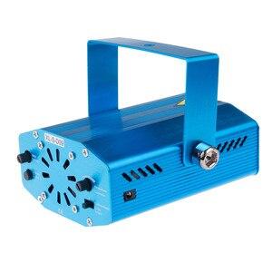 Image 2 - Haut parleur Laser Bluetooth, USB DJ, avec télécommande, Mini lampe de projecteur RGB