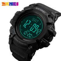 SKMEI Fashion Top luxury Sport Watch Men 5Bar Waterproof Watches Alarm Clock Calorie Digital Watch Relogio Masculino 1356