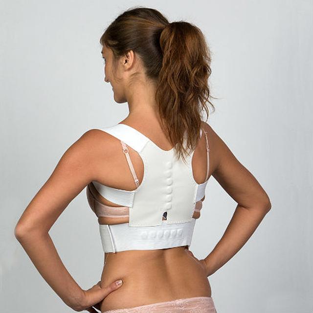 Corsé Corrector de postura magnética Corrector de espalda recto soporte Lumbar alivio del dolor para niños adultos Unisex