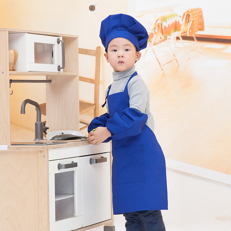kitchen apron for kids cart stainless steel top new chef canvas red blue orange yellow painting aprons wear arrivals in from home garden on aliexpress com alibaba group