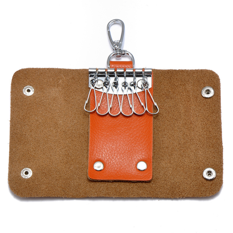 Aluminum Key Holder Organizer Clip Folder Keyring Keychain Pocket Tool GK