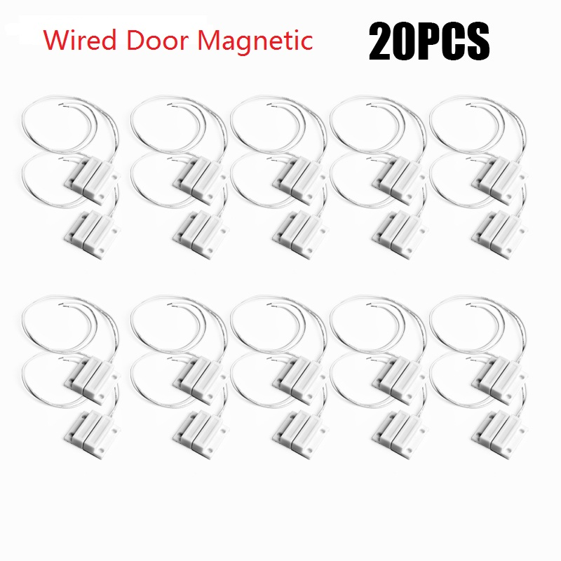 MC-38 Wired Door Window Sensor Magnetic Switch Home Alarm System detector Magnetic Switch normally closed NC