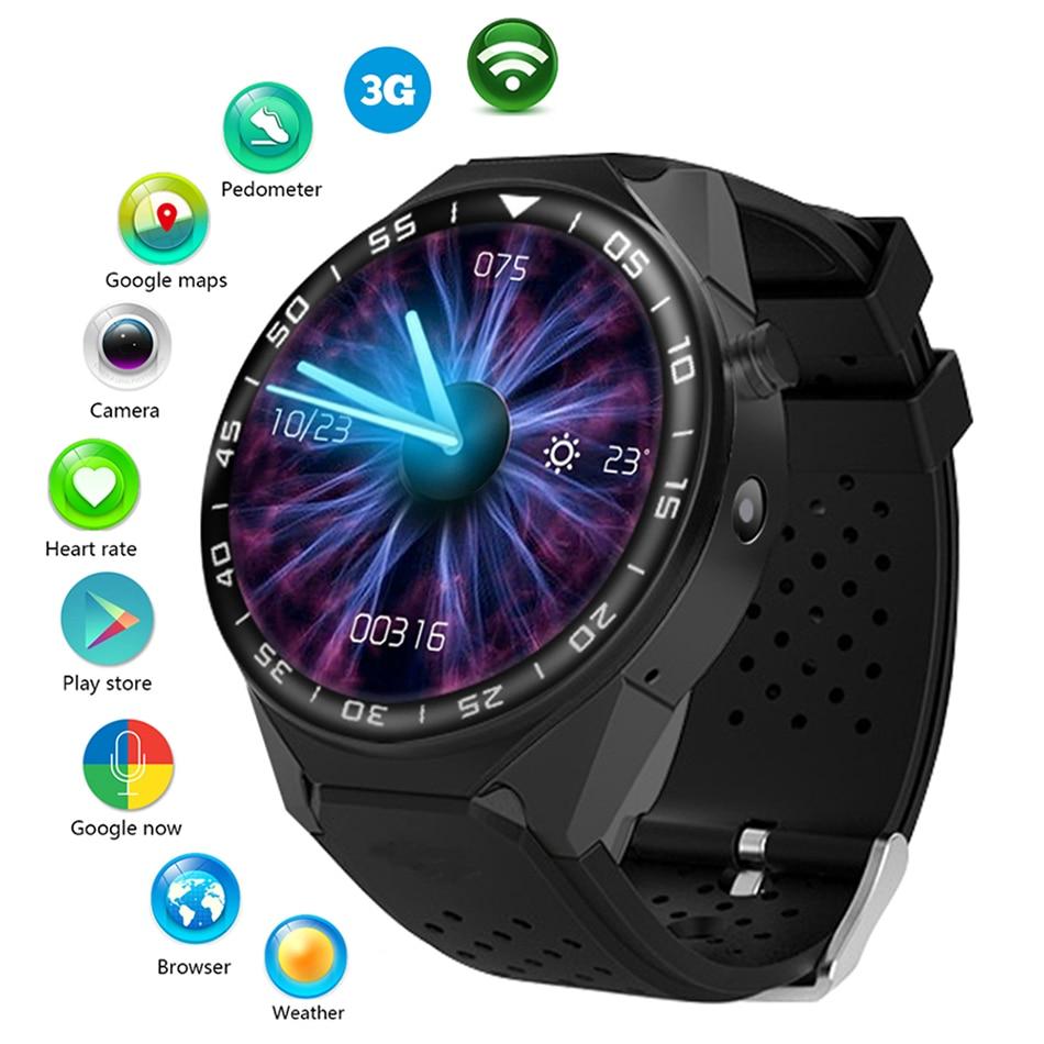 Многофункциональный Смарт часы Для мужчин Для Женщин Bluetooth часы 1080 P WI FI Камера SIM gps сердечного ритма фотографии Сенсорный экран спортивные