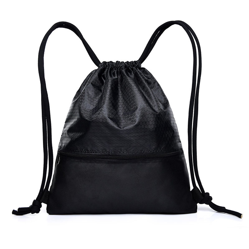9PCS LOT Fashion Drawstring Bags Mulitfunctional Backpack Mini String Sack Women Men Travel Package Wholesale