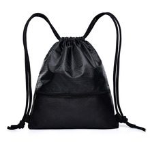 9PCS / LOT Fashion Drawstring Bags Mulitfunctional Backpack Mini String Sack Women Men Travel Package Wholesale
