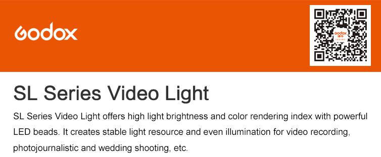 Godox SL-100 2400LUX Studio LED Continuous Video Light Bowens Mount (12)