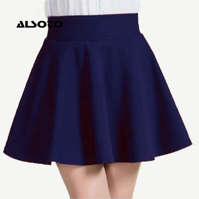 ALSOTO New Women Skirt Sexy Summer skirt Korean Version Short Skater Fashion Female Mini Skirt Women Clothing Bottoms Vadim tutu 4