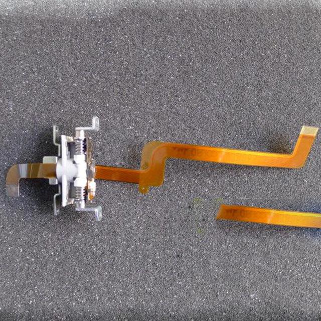 Nuevo tirón original pantalla lcd bisagra eje unidad conectada con flex cable para panasonic nv-gs258 gs250 vídeo
