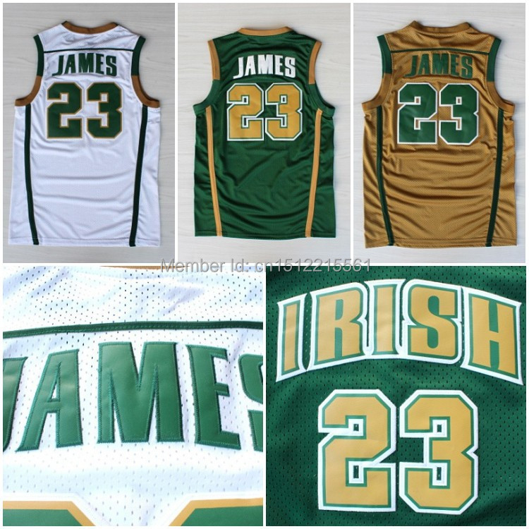 buy popular e6631 add3f Free Shipping Retro High School Jersey Embroidered #23 ...