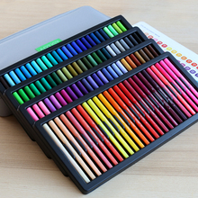 KACO Doppel Spitze Aquarell Stifte ungiftig Pinsel und Scriptliner Stift für Zeichnung Geschenk Set 100 Farben mit Handtasche