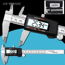 Stainless Steel Digital Display Caliper 150mm MM / Inch High Precision Stainless Steel LCD Vernier Caliper недорого