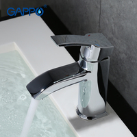 GAPPO 1set Top Quality Deck Mount Basin Water Faucet Mixer Bathroom Sink Faucet Mixer Tap Modern