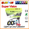D2S Xenon hid kit DC 35w 12v D2C hid kit 4300K/6000K/8000K headlight kit (Xenon D2S bulbs +ballasts+ D2S adapter cables)
