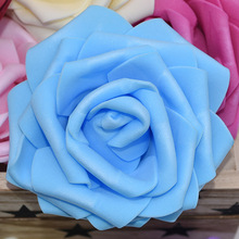 US $1.2 25% OFF|5pcs 10cm Big Rose Heads Artificial PE Foam Flowers for Wedding Decoration DIY Wreath Bouquet Crafts Fake Flowers Gift Box Decor-in Artificial & Dried Flowers from Home & Garden on Aliexpress.com | Alibaba Group