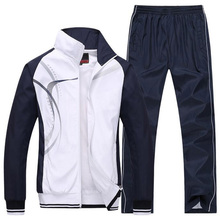 men's Sportswear Men's Sporting suits brand Tracksuits hoodies and sweatshirts mens Jackets+Pants 2Pcs 5xl plus siz