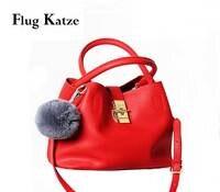 Flug Katz Frauen Echtes Leder einkaufstaschen Frauen Echtlederhandtaschen Große Umhängetaschen Bolsas femininas