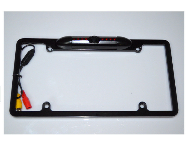 American rear view camera license plate frame license plate frame camera with font b light b
