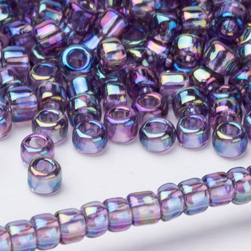 5//20Pcs Murano Glass Bead lampwork Fit European bulle Big Hole Spacer Beads