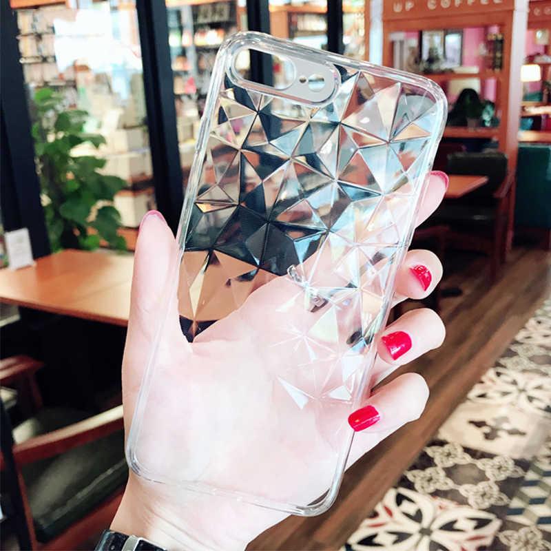 Tpu macio 3D Diamante 5 pro 5A 5 Além de caixa do telefone Para Xiaomi Redmi Nota 4 4X 5A PRIME tampa traseira Para Xiaomi 8 5X A1 6X Mix 2S