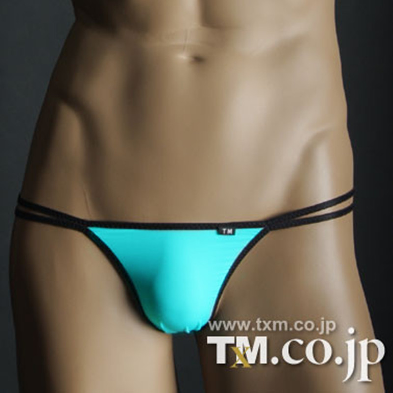 TM underwear Male stretch yarn slip sagging super elastic man thongs Free shipping