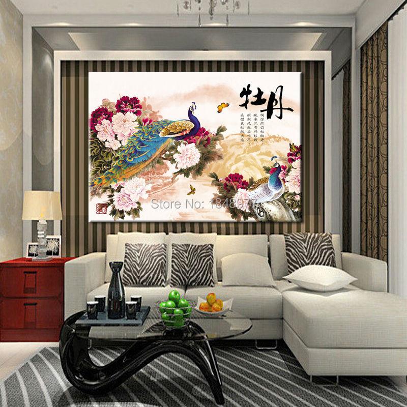 Quadros-De-Parede-grande-pinturas-al-óleo-chinas-Peony-y-Peacock-Feng-Shui-Wall-fotos-para.jpg