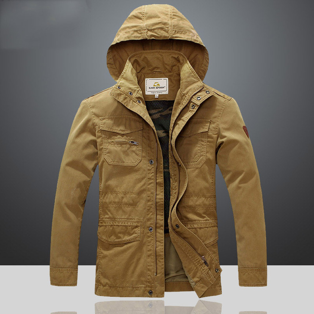 Men Military Safari Jacket Outdoor Jackets A076 In Jackets From