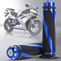 """1 Par BUH9 7/8 """"Universal de La Motocicleta Motos Deportivas De Aluminio Manillar de la Motocicleta Grips Empuñadura De Goma 5 colores"""