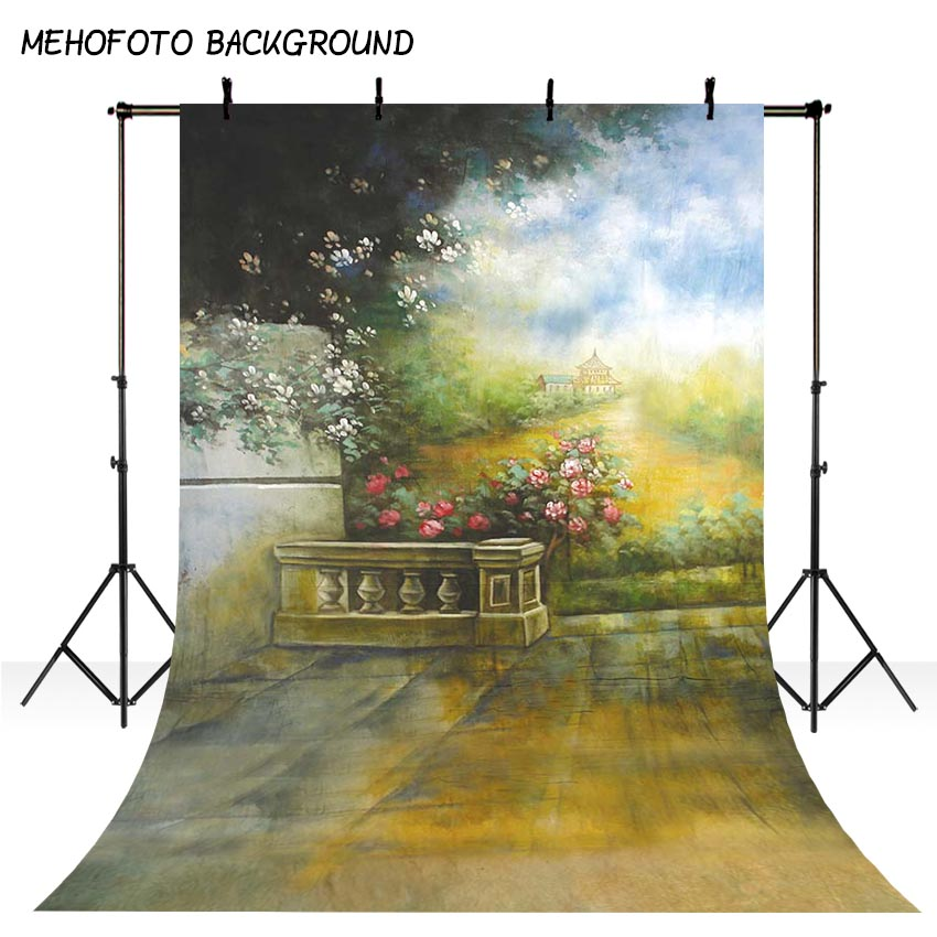 MEHOFOTO Children Photo Background Vinyl Photography Backdrops Fairy Tale the Scenery Background for Photo Studio S-1725