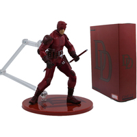 6 inches Red DC Daredevil Super Hero Action Figure Toys for Kids Children Birthday Gift Adults Collection Gadget Decor Kits Doll