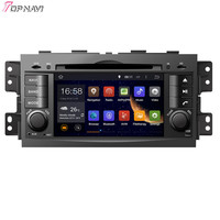 TOPNAVI 7'' Quad Core Android 6.0 Car DVD Play for KIA MOHAVE BORREGO 2008 Autoradio GPS Navigation Audio Stereo